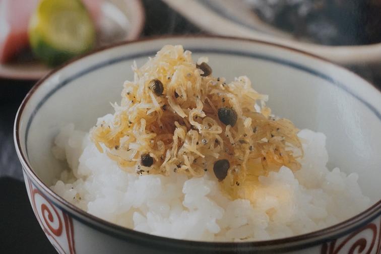おうちで楽しむ、京の味と物㉝やさしい味わいがファンを魅了する「じゃこ山椒」ー 「しののめ寺町」