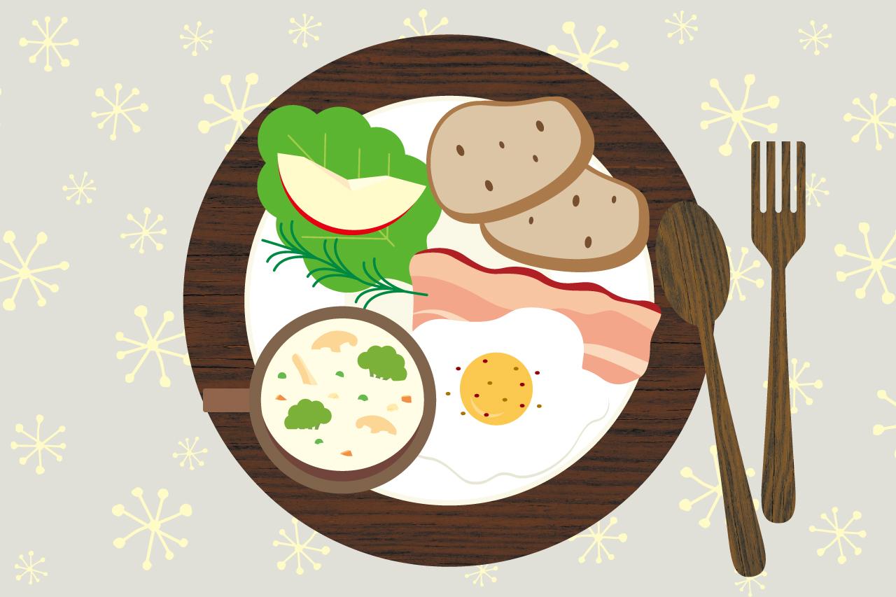 朝食イメージイラスト