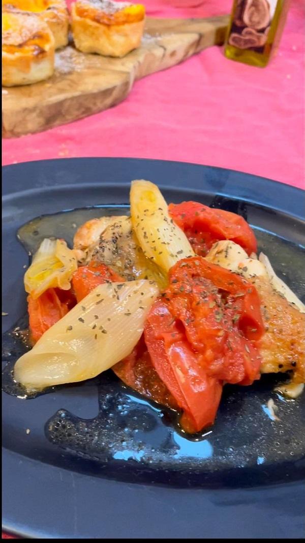 鶏肉とトマトのソテー
