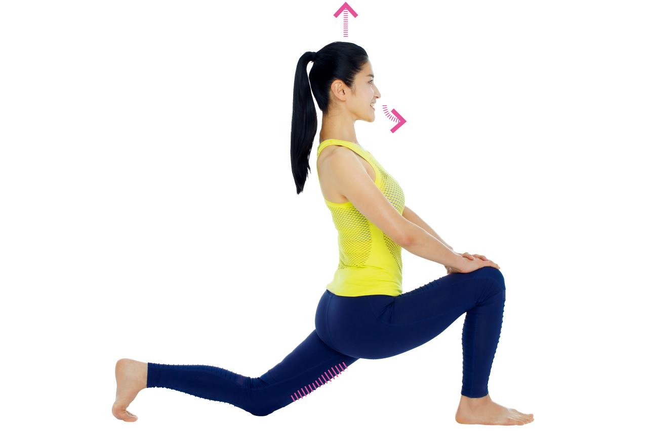 太もも前の筋肉を緩めて、太もも痩せ/「美ボディ」ストレッチ⑥