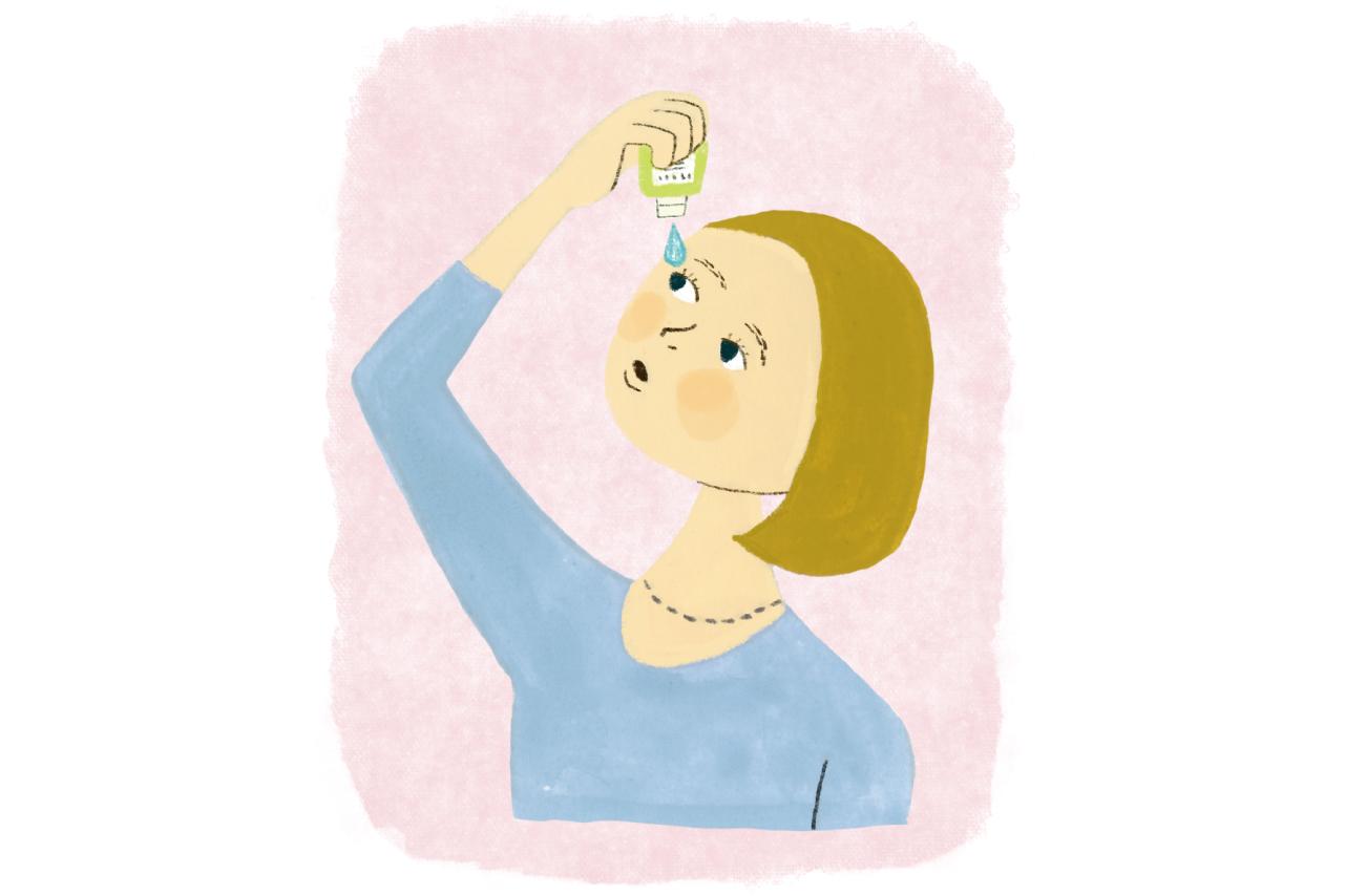 目の乾燥には 目薬が必須 or 必ずしも必要ない