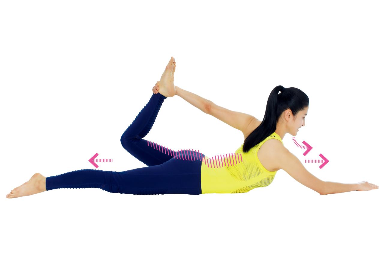 太もも前の筋肉を緩めて「太もも痩せ」/部分痩せ「美ボディ」ストレッチ⑦