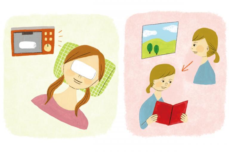 老眼やスマホ疲れ対策に。「毛様体筋を緩める」簡単な方法とは?/目がよくなる大人のアイケア術①