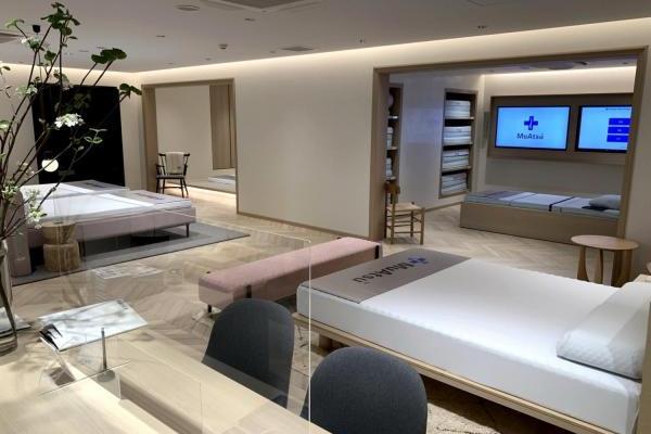 良質の睡眠を提案するムアツプラスの新しいショールームがオープン