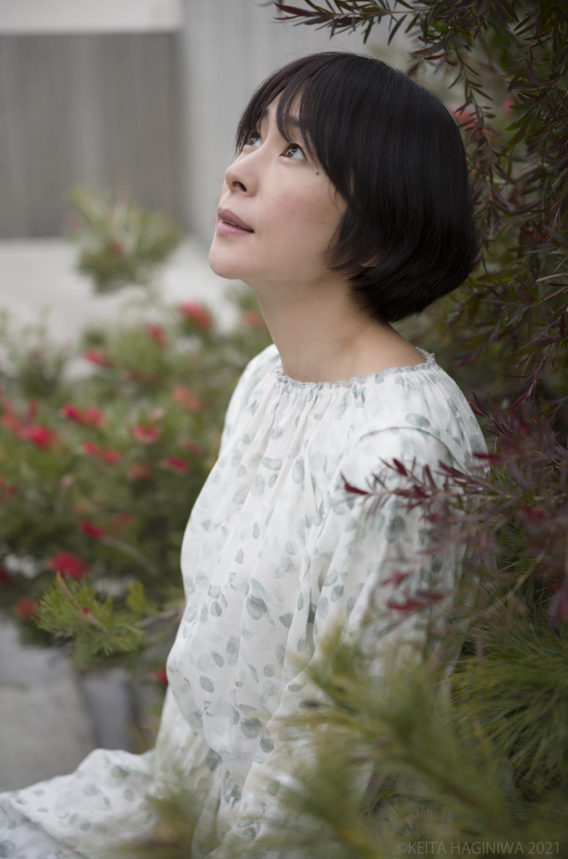 西田尚美さん横顔