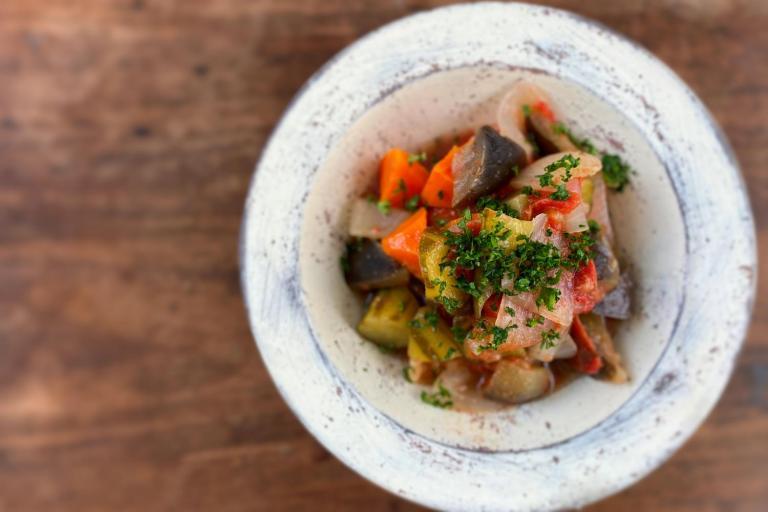 鍋ひとつでOK! 野菜たっぷりで免疫力強化 ダイエットにもいいノンオイル・ラタトゥイユ