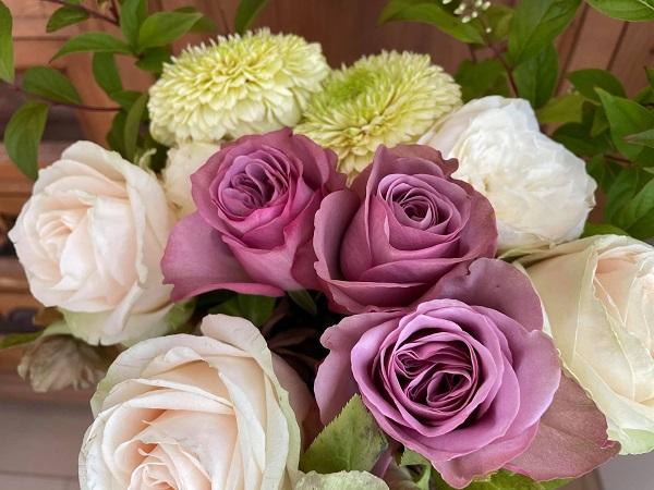 バラの花束 アヴニールほか