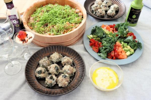 『野菜がもりもり食べられる料理教室』をzoomレッスン