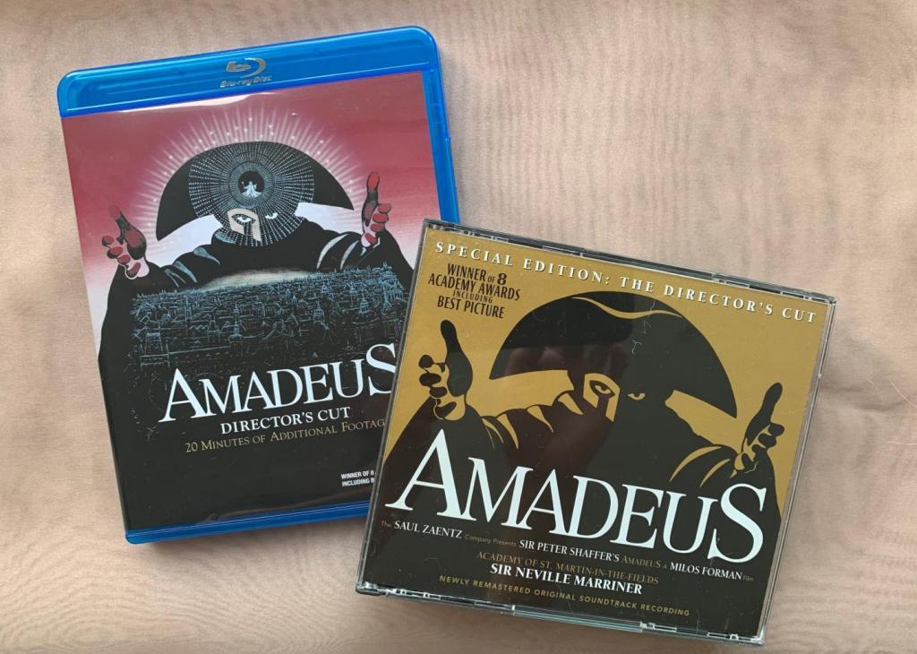 「アマデウス」DVD,サントラCD