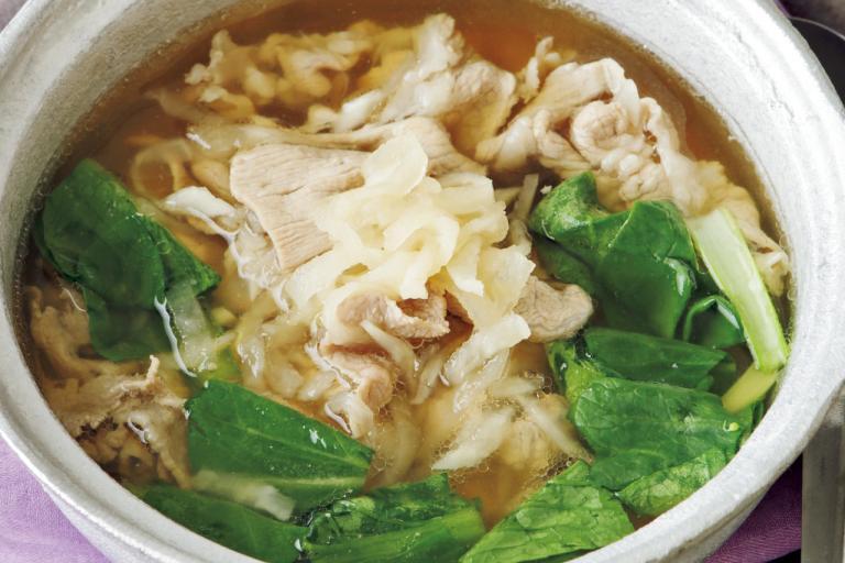 ミネラル豊富な切り干し大根に注目!「切り干し大根と豚肉の中華風スープ」/ミネラル不足解消レシピ③