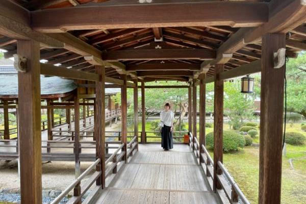 渡月橋に人がいない……人がまばらな京都でしばしのリフレッシュ