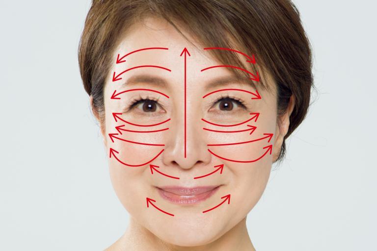 津田攝子先生が解説<2>顔のむくみ対策には湯船で「津田式静脈マッサージ」を/女医の夏冷え&むくみ対策⑪