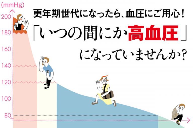 40代の3人に1人が高血圧。基準の数字を知っていますか?/更年期世代の「いつの間にか高血圧」①
