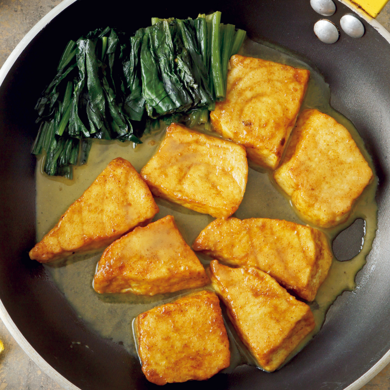 カジキのカレー蒸し煮