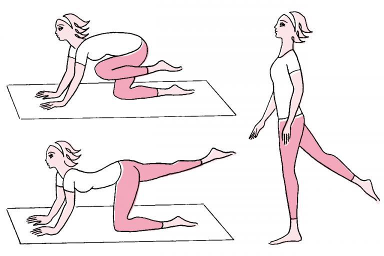 飛田砂織先生が解説<2>むくみ対策には筋肉も必要。エクササイズを/女医の夏冷え&むくみ対策⑦