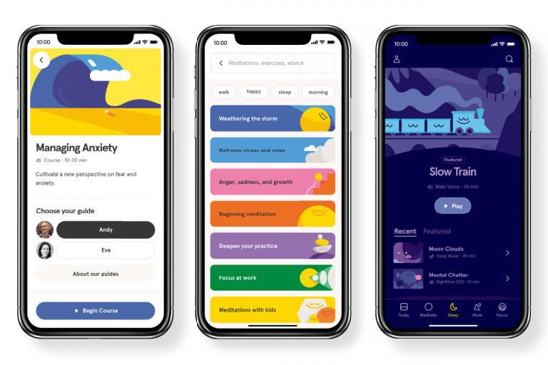 瞑想や良質な睡眠に特化したNYの人気アプリ<Headspace(ヘッドスペース)>/心の健康を取り戻すアプリ②」
