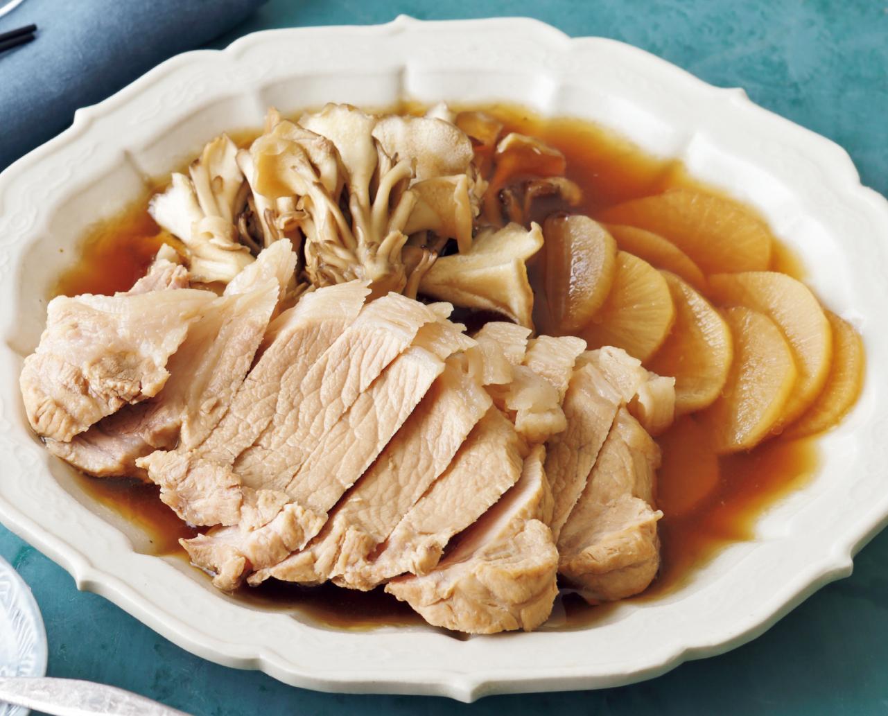 トンカツ肉で簡単煮豚