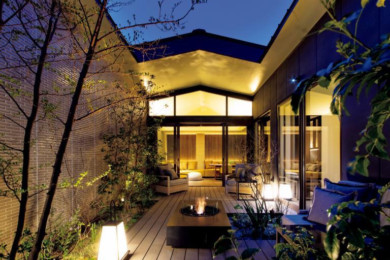 プライベートガーデンテラスに温泉露天風呂が「ふふ熱海 木の間の月」/おこもりを楽しむプライベート温泉