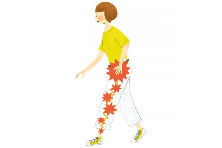 「坐骨神経痛」は腰から足先までの太い神経に痛みが出る症状の総称です/教えてDR.!第14回