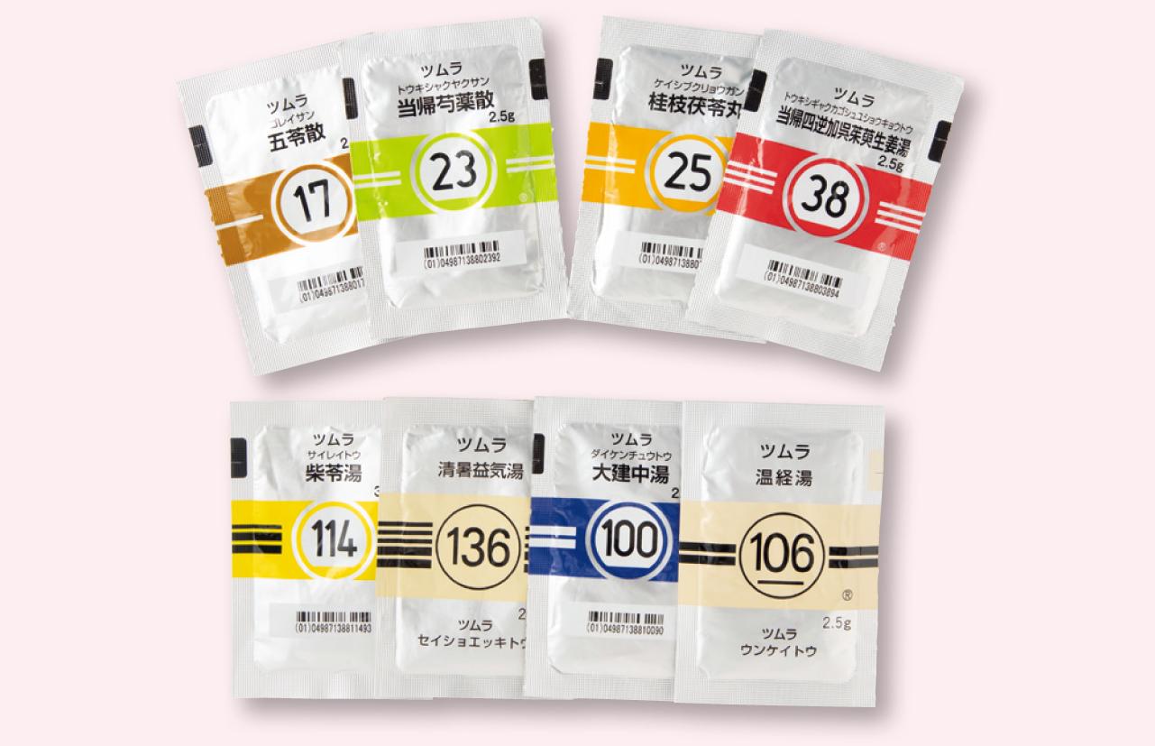 冷えやむくみの治療に使用しているツムラの漢方薬