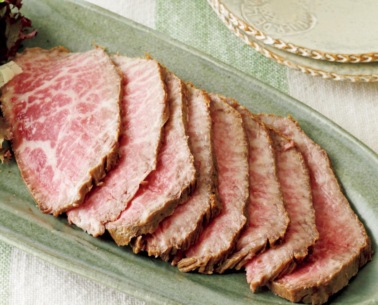 赤身肉の簡単ローストビーフ