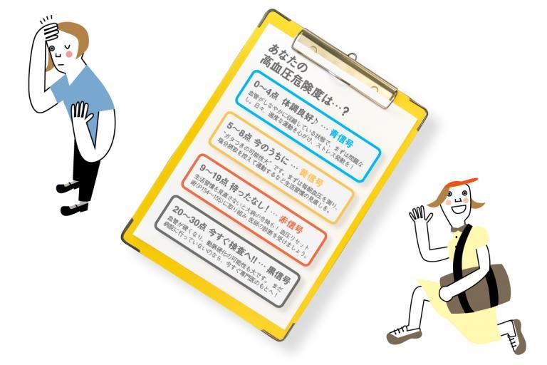 あなたの高血圧危険度をチェック!/更年期世代の「いつの間にか高血圧」②