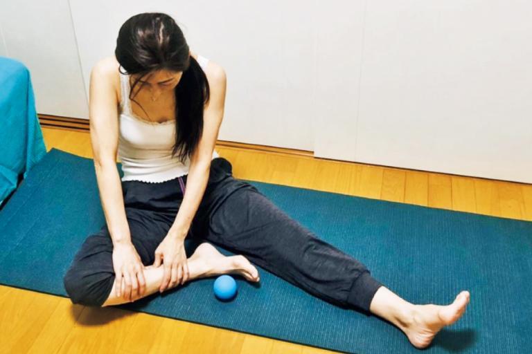 筋膜リリース、姿勢改善、糖質過多対策でぽっこりお腹を解消!<50代・朝子さんの実践具体例>/5人のぽっこりお腹凹ませルポ②