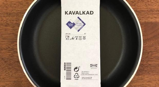 イケア フライパン キャバルガード