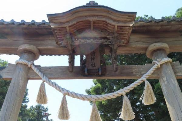 血洗島にある渋沢栄一ゆかりの神社へ。新一万円札にも出会う⁉