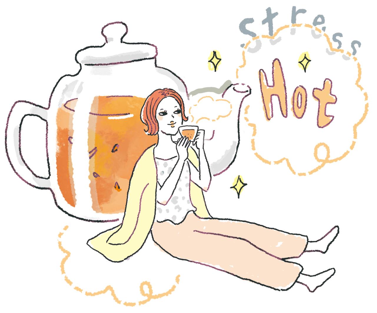 ストレス食いに走りそうになったら、温かい飲み物を