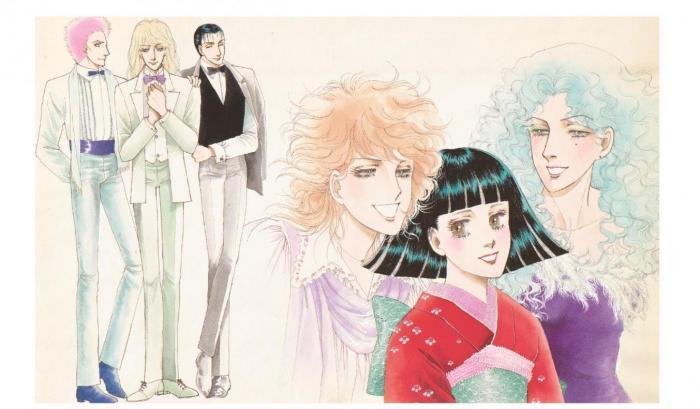 「有閑倶楽部 PART5」りぼん1982年2月号扉