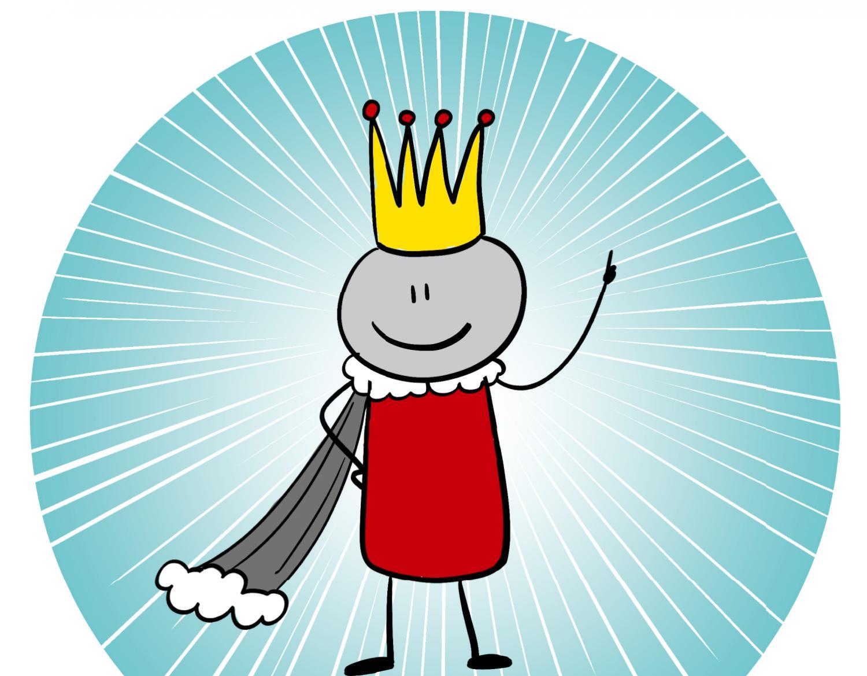 """『子どもを守る言葉 「同意」って何?』の象徴的キャラクターは""""キミ=「王」"""""""