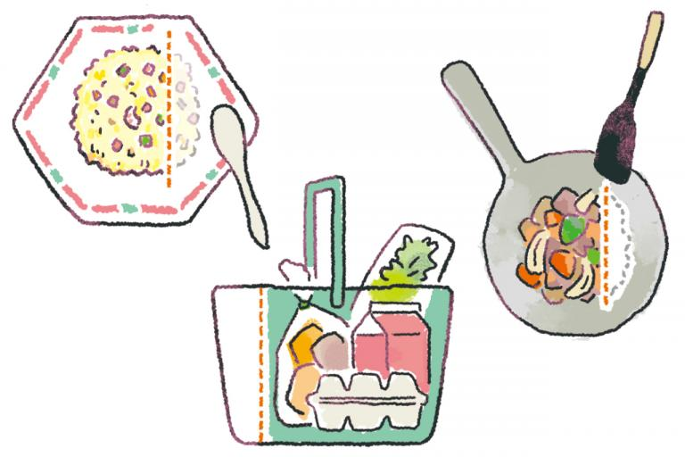 やせたいなら「食べる量」「作る量」「買う量」をたった1割減らしてみよう/やせる食べグセ45|食べ方編①