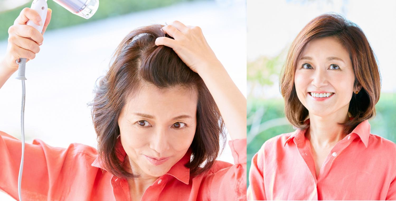 手ぐしドライヤーで簡単ふんわり! 毎日ふんわりつるりんヘアでいられるシャンプーとは?