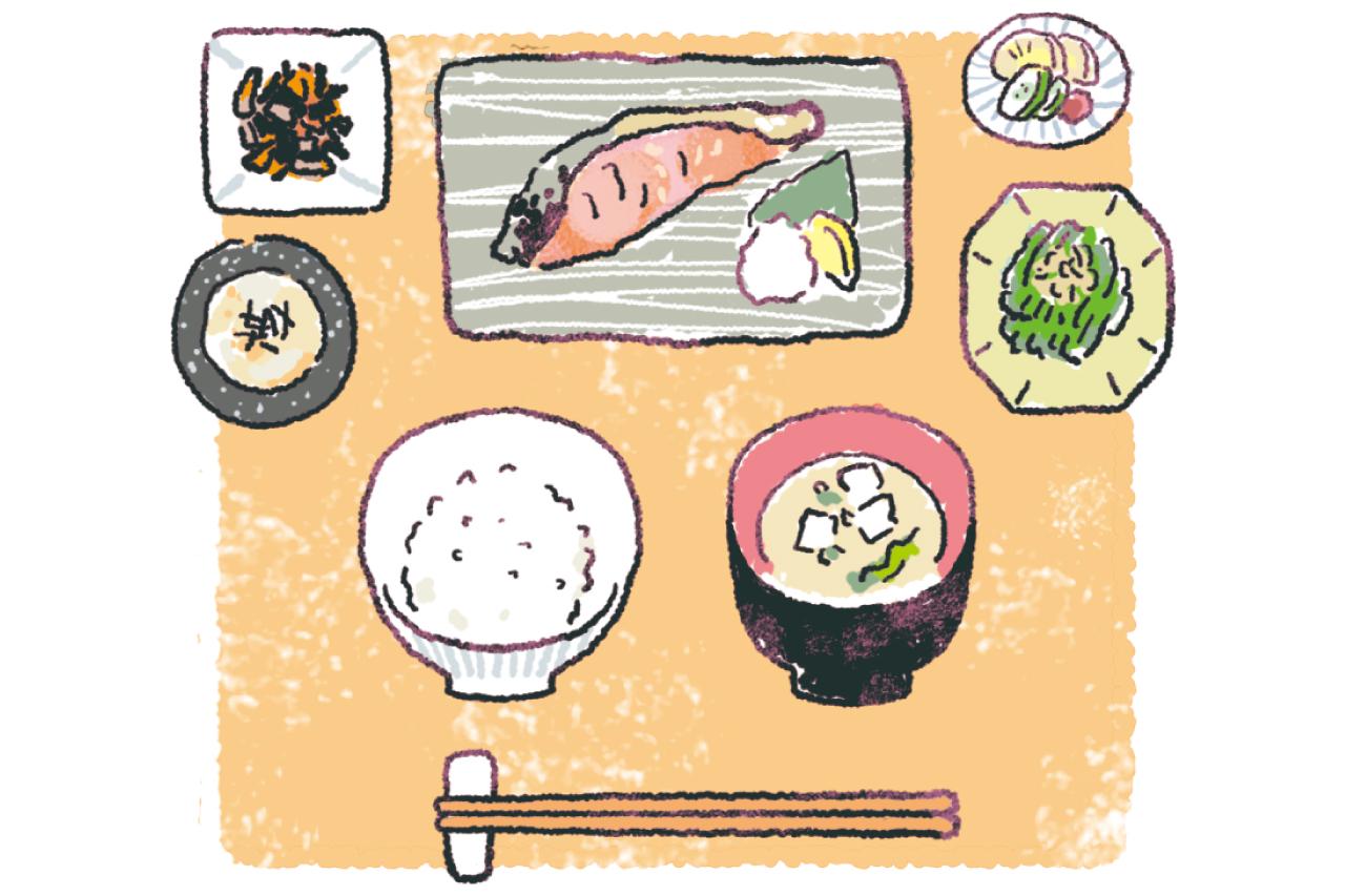 1975年の和食が最もやせやすい