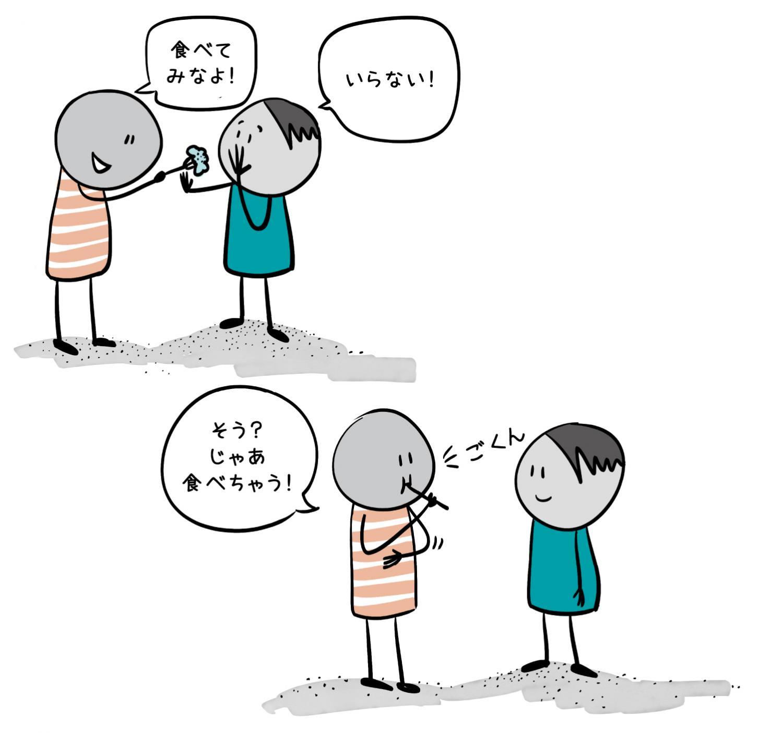 2.相手の気持(きも)ちや想(おも)いをよく聞くようにしよう