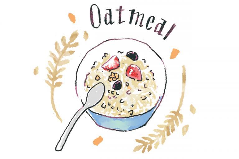 オートミールの健康効果に注目!血糖値の急上昇を防ぎ、食物繊維を摂る/やせる食べグセ45|やせる食材編①