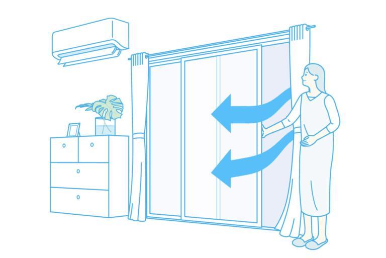 気は引き締めて、窓は開けるが◎! ウィルスや汚染物質から身を守る、効果的な「窓開け換気」とは?