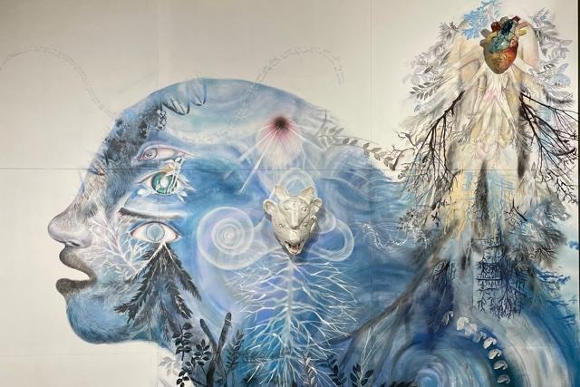ドキドキしてるのは私? それとも森? 大小島真木さんの個展「森臓」で、無限の鼓動に触れる